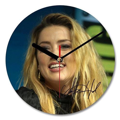 Amber Heard - Friday Night Lights Autographed Wall Clock