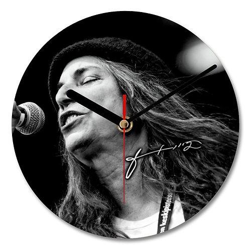 Patti Smith Autographed Wall Clock