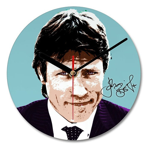 John Bishop Autographed Wall Clock