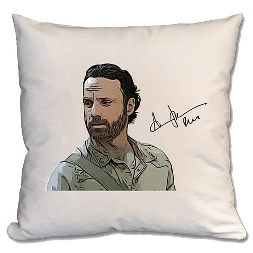 Andrew Lincoln The Walking Dead Large Cushion
