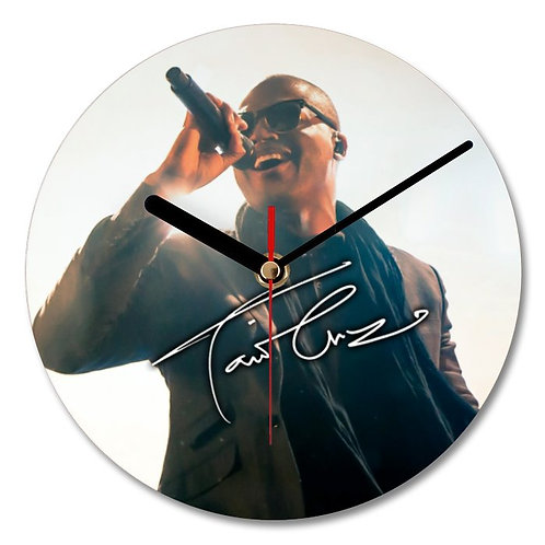 Taio Cruz Autographed Wall Clock