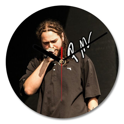 Post Malone Autographed Wall Clock