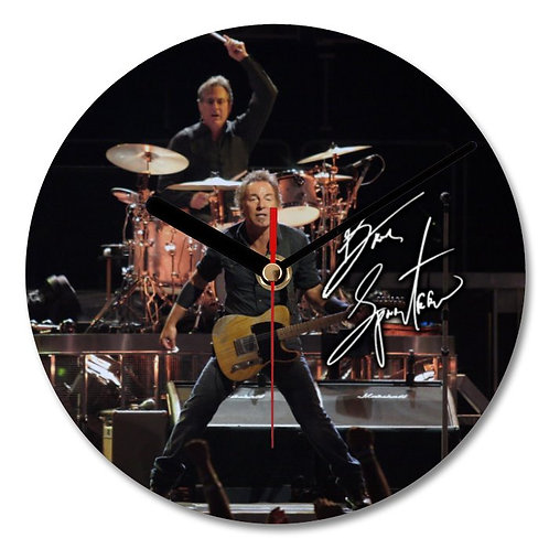Bruce Springsteen Autographed Wall Clock