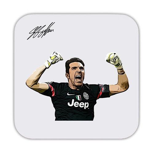Gianluigi Buffon Juventus Drinks Coaster 9 x 9cm