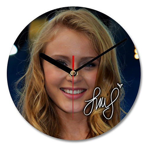 Zara Larsson Autographed Wall Clock