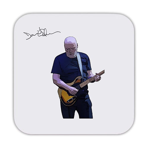 David Gilmour Pink Floyd Drinks Coaster 9 x 9cm