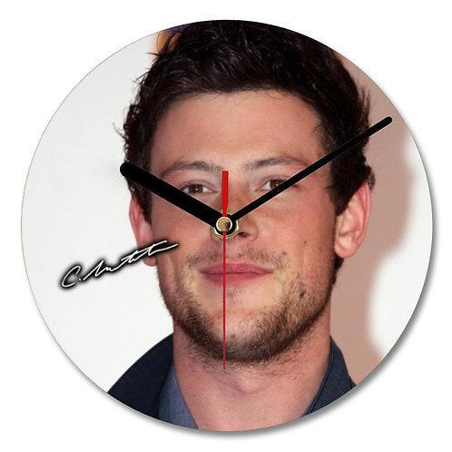 Cory Monteith - Glee Autographed Wall Clock