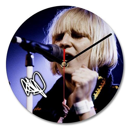 Sia Autographed Wall Clock
