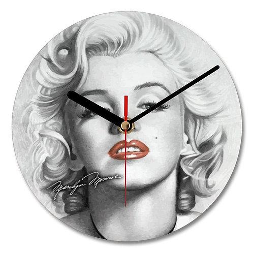 Marilyn Monroe Autographed Wall Clock