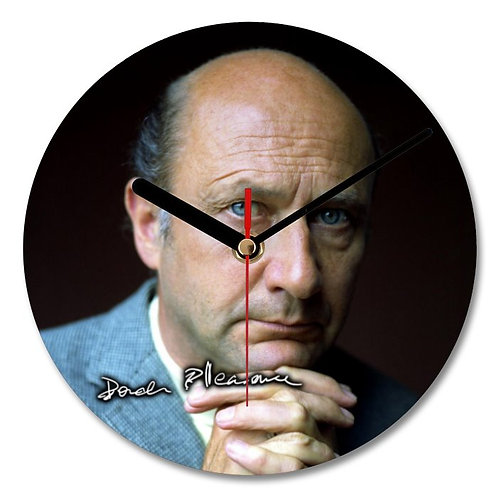 Donald Pleasence - Ernst Stavro Blofeld Autographed Wall Clock