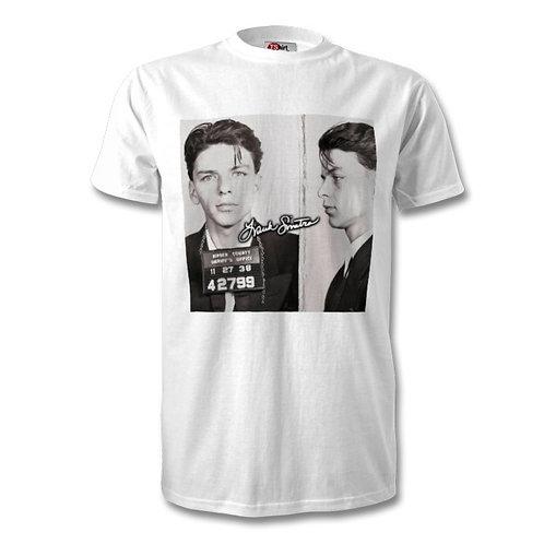 Frank Sinatra Autographed Mens Fashion T-Shirt