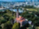 צילום אווירי כנסייה הרוסית