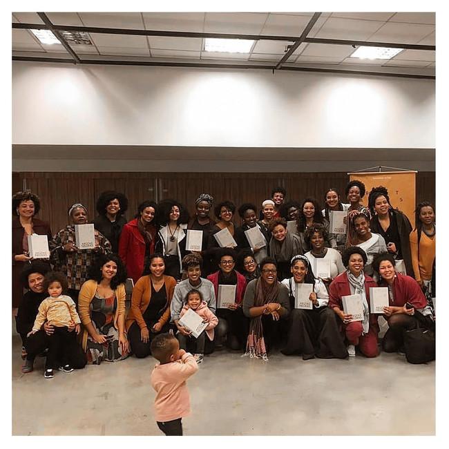 Lançamento do livro Arq. Negras, SP, 2019.