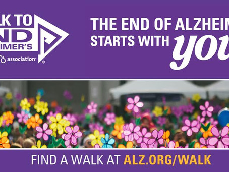 Walk to End Alzheimer's (and other Dementias)