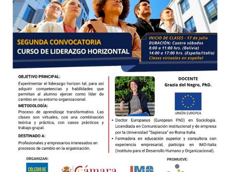 CURSO DE LIDERAZGO HORIZONTAL - Segunda Convocatoria