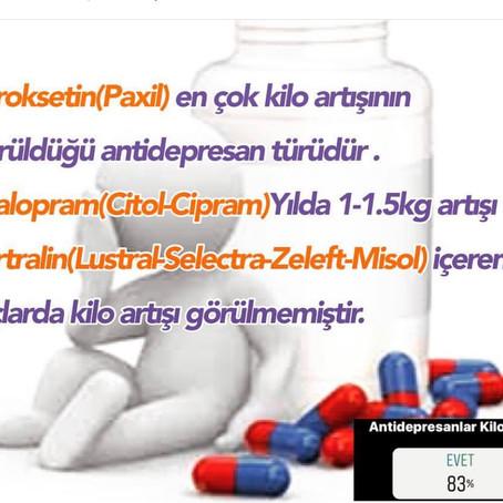 Antidepresanlar Kilo Aldırır mı?