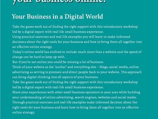 Taking Your Business Online Workshop
