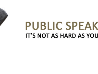 Advice on how to successfully deliver a Public Speech