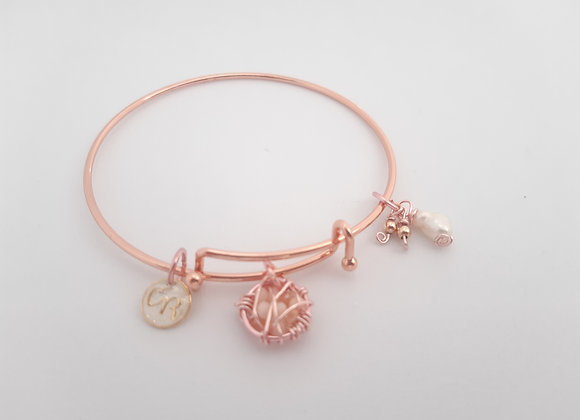 Dream Catcher Bangle Bracelet - Bracelet attrape-rêves