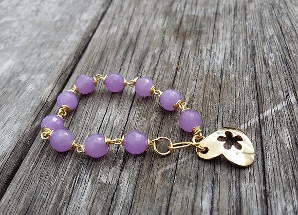Lilac Bracelet - Bracelets Lilas