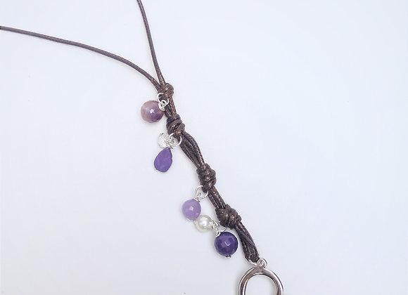 Bohemian Necklace Heart- Collier Bohème Coeur