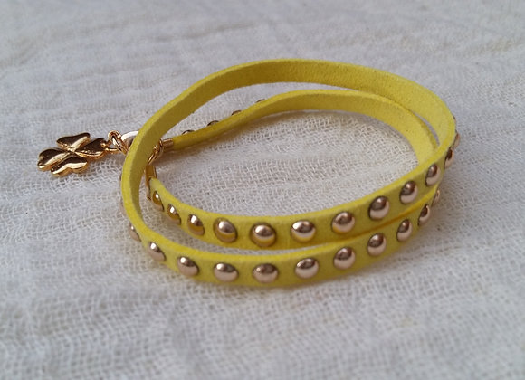 Yellow Fashion Bracelet - Bracelet de mode jaune