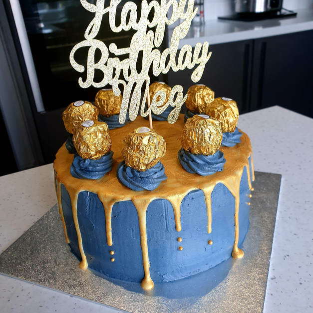 Birthday cake with your choice of topper