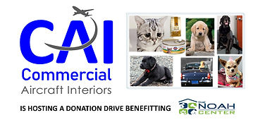 Commercial Aircraft Interiors will be lending a helping hand to our local NOAH Center!