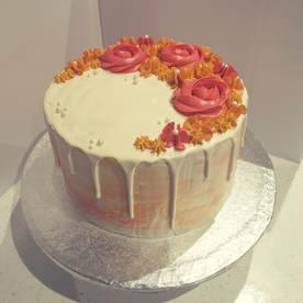 Autumn themed cake