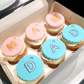 New Mam & Dad Cupcakes
