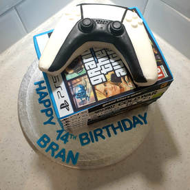 PS5 Game Stack Cake
