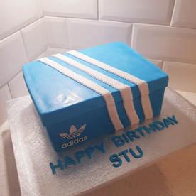 Adidas Shoebox Cake
