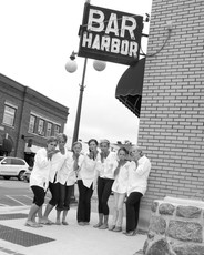 Bridesmaids in Harbor Springs