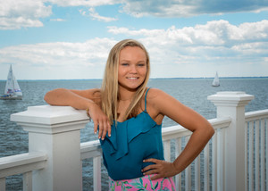 Senior at the Grosse Pointe Yacht Club