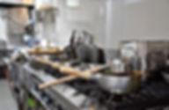 コンロの上にある鍋