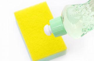 スポンジと洗剤