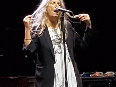 Eighth Day Magazine Gig of the Year 2018:  Patti Smith at Manchester Apollo, 05/06/18.