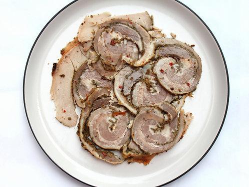 Porchetta Fatta in Casa / Home-Made Roman-Style Porchetta 100g