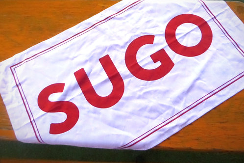 SUGO Banner Tea towel 2020