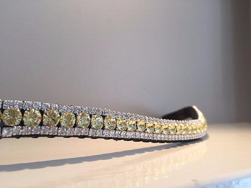 bling crystal horse browband Elegant Equines Preciosa Crystal