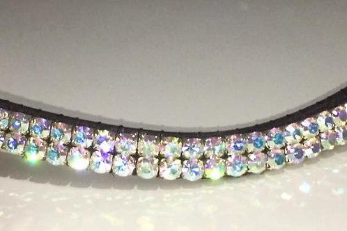 Crystal bling browband