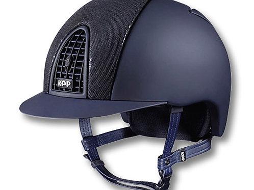 KEP Italia cromo T glitter safety helmet riding hat
