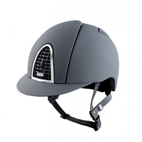 KEP Cromo Textile - Grey Riding Hat