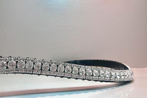 Ultimate bling crystal horse browband Elegant Equines Preciosa Swarovski