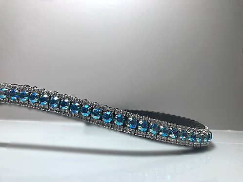 Bling crystal horse browband Elegant Equines diamante