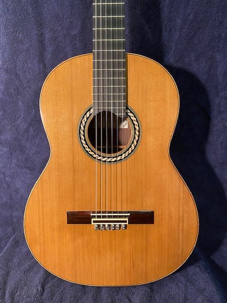 Custom classical guitar for sale!