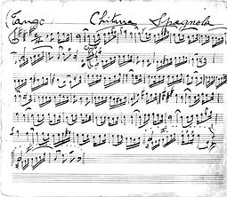 My Father's Composition