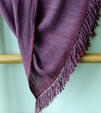 shawl for women coloured with natural dy
