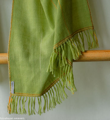 stole for women natural dyes indigo and
