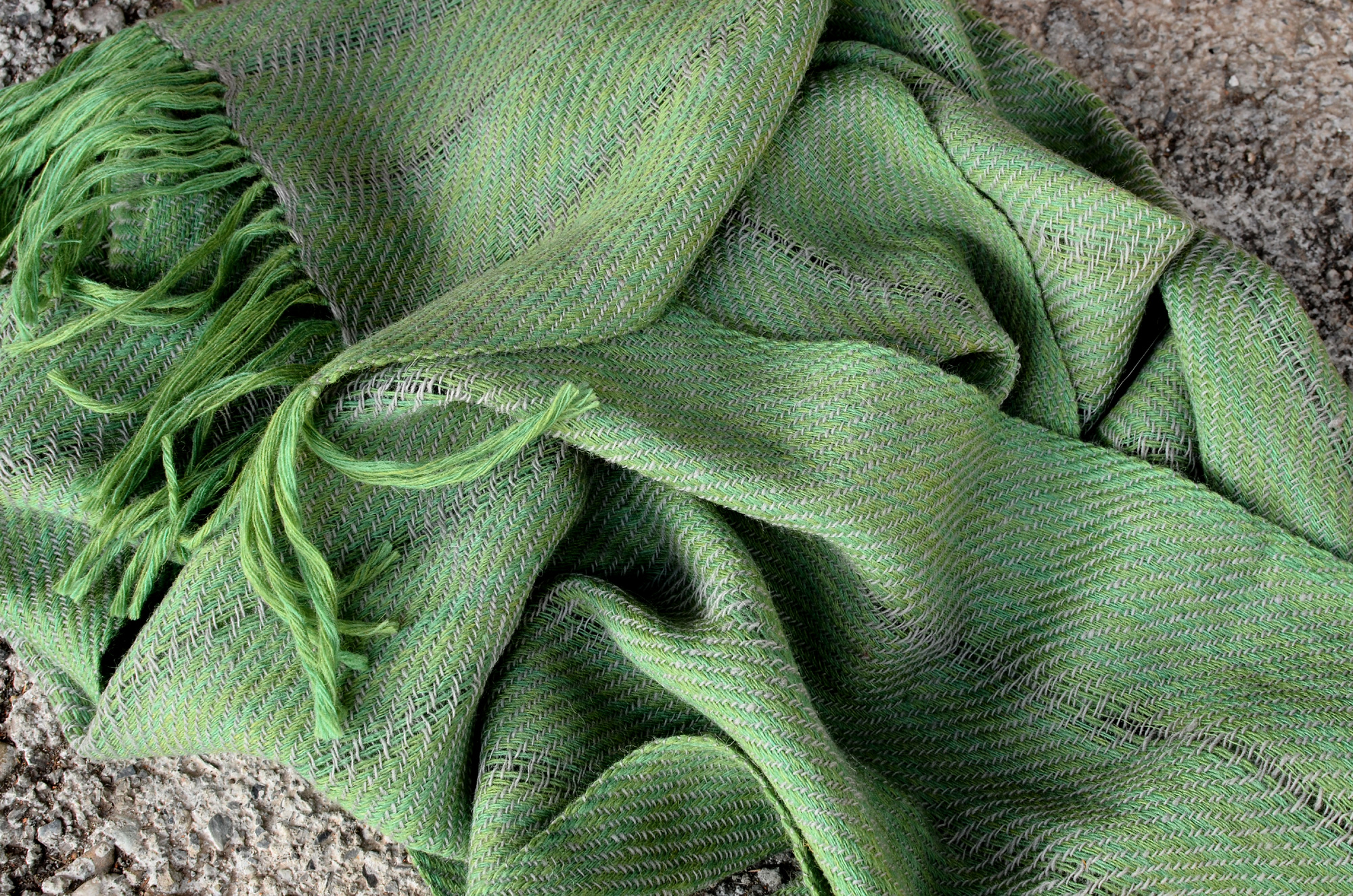 Scarf made in Mussoorie natural Dyes